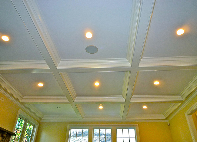 High Mount Carpentry Coffered Ceilings